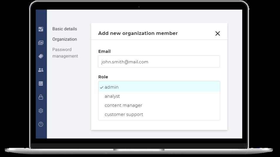 Adding accounts on InPlayer video monetization platform